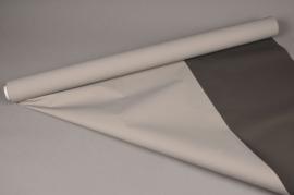 A089BD Rouleau de papier mat perle taupe 80cm x 40m