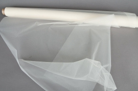 Tulle roll ivory 0,75x10m