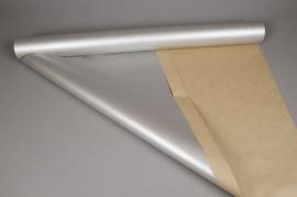 X013QX Roll of silver kraft paper 0,80x50cm