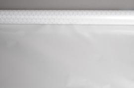 A009M9 Rouleau papier mat étoile argent 80cm x 40m