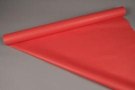 A027BD Rouleau papier mat perle rouge 80cm x 40m