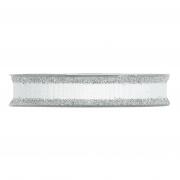 X205UN Ruban de coton blanc 15mm x 15m