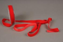 A458EC Ruban de velours rouge 20mm x 10m