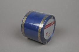 A423ZR Ruban deuil bleu 75mmx50m