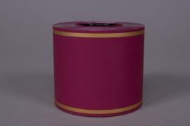 Ruban deuil rouge bordeaux 75mmx50m