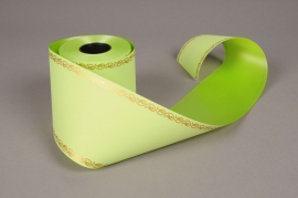 F012ZR Ruban deuil vert 100mmx50m