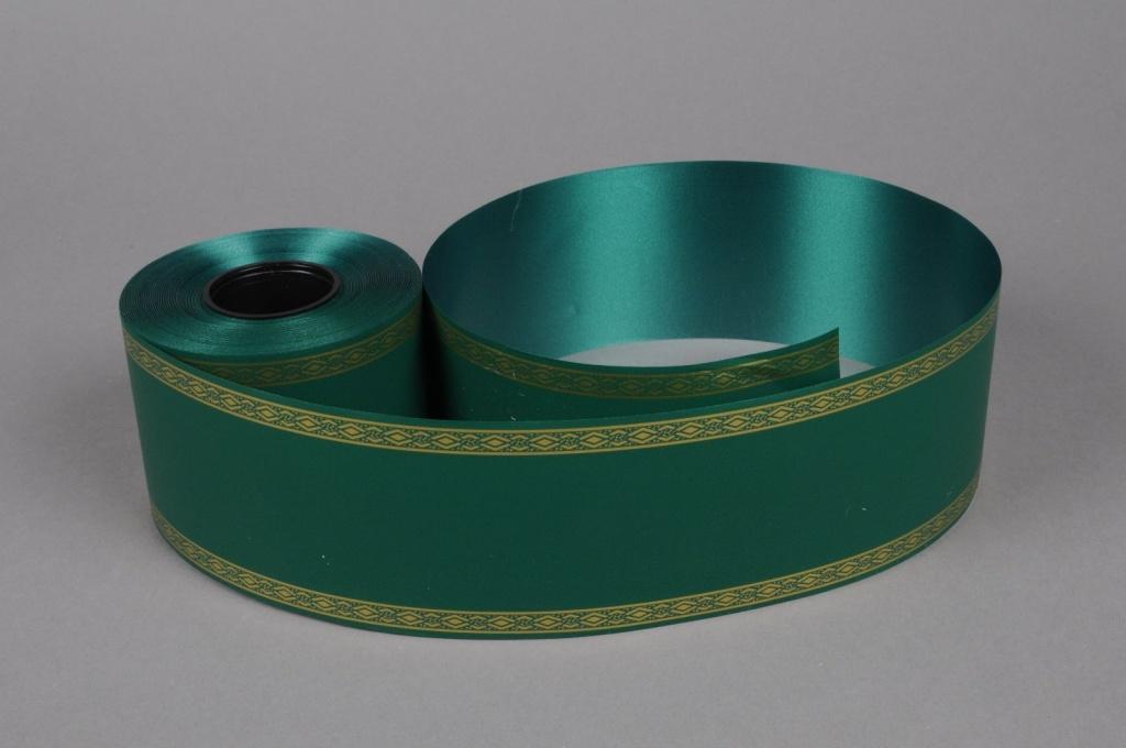 A199ZR Ruban deuil vert 75mmx50m