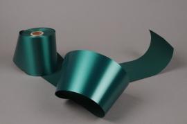 A024AI Ruban deuil vert sapin 100mm x 50m