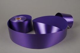 A016AI Purple bereavement ribbon 75mm x 50m