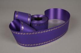 A525ZR Ruban deuil violet 75mmx50m