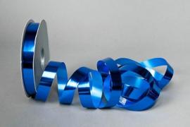 X053UU Ruban métal brillant bleu 19mm x 100m
