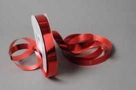 X051UU Ruban métal brillant rouge 19mm x 100m