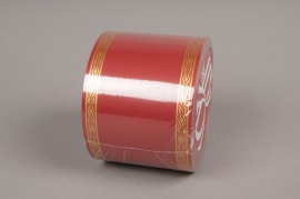 A200ZR Rubbon bereavement red 75mm x 50m