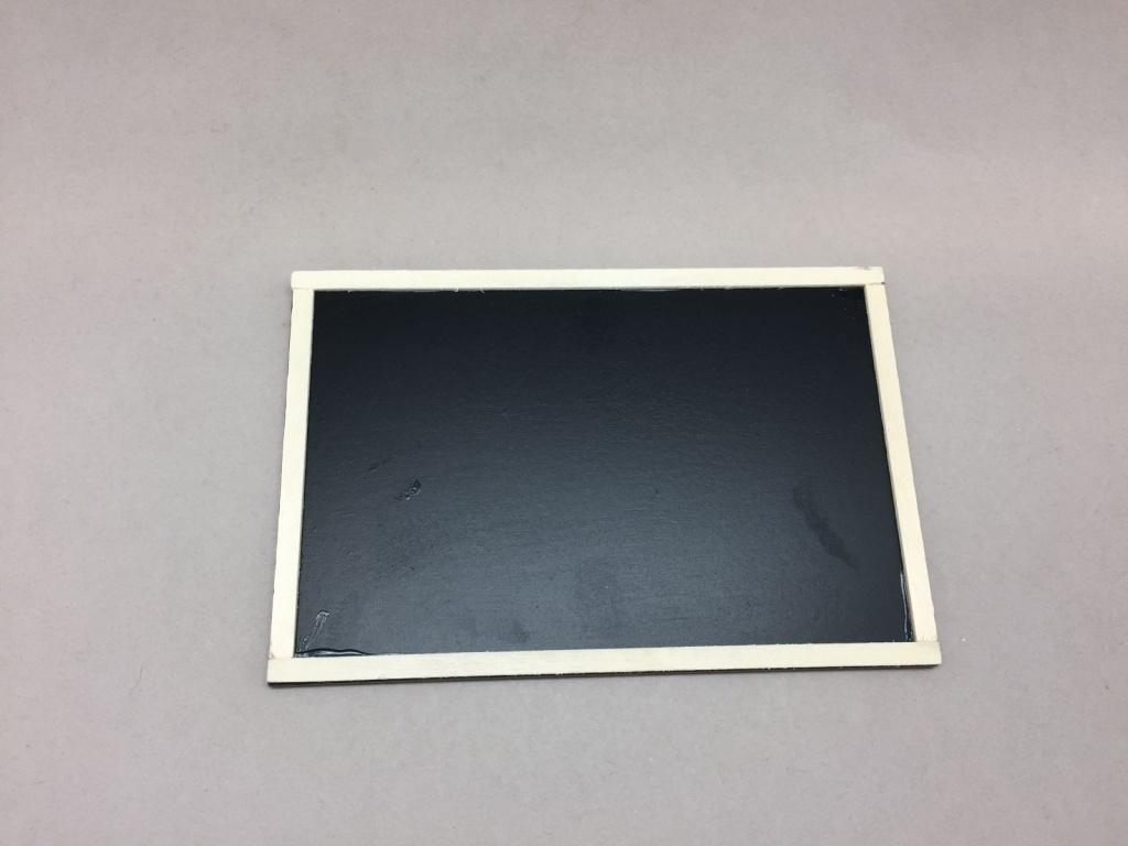 A011D0 Sachet de 24 étiquettes ardoise L15cm H10cm