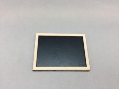 A009D0 Sachet de 24 étiquettes ardoise L7.5cm H5.5cm