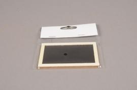 A010D0 Sachet de 24 étiquettes ardoise L9cm H6cm