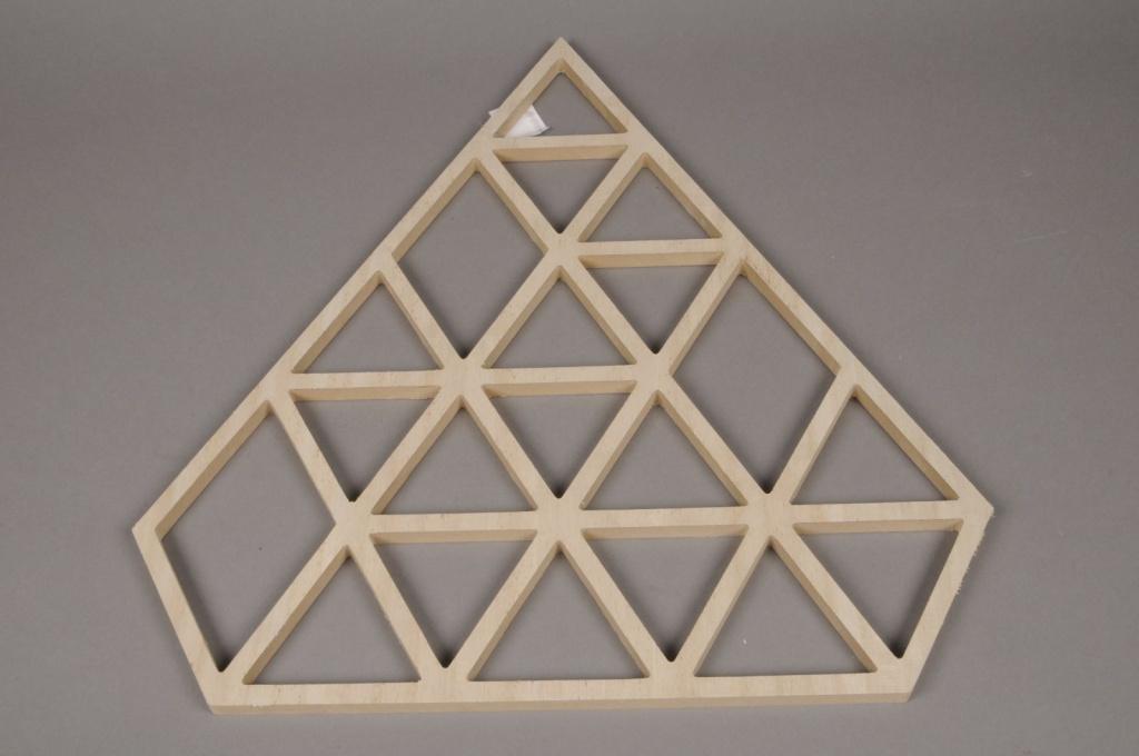 X011H0 Sapin en bois diamant H50cm