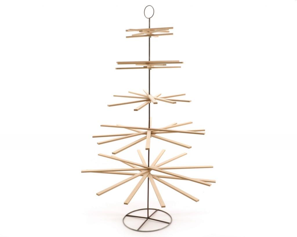 X952KI Sapin en bois naturel H175cm