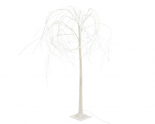White weeping willow lighting LED H170cm