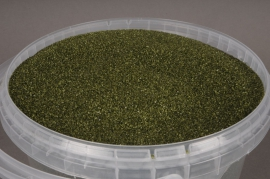 A039SK Seau 2.5L de sable vert olive