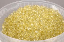 A162QF Seau 2.5L perles de pluie or pailleté