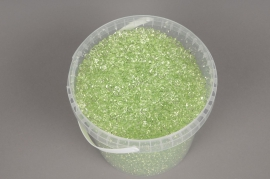 A150QF Seau 2.5L perles de pluie vert transparent