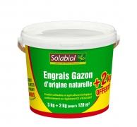 A070SU Seau de 7kg d'engrais Gazon d'origine naturelle