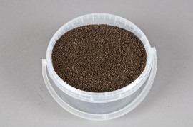 Gravel bucket coffee-colored 2,5L