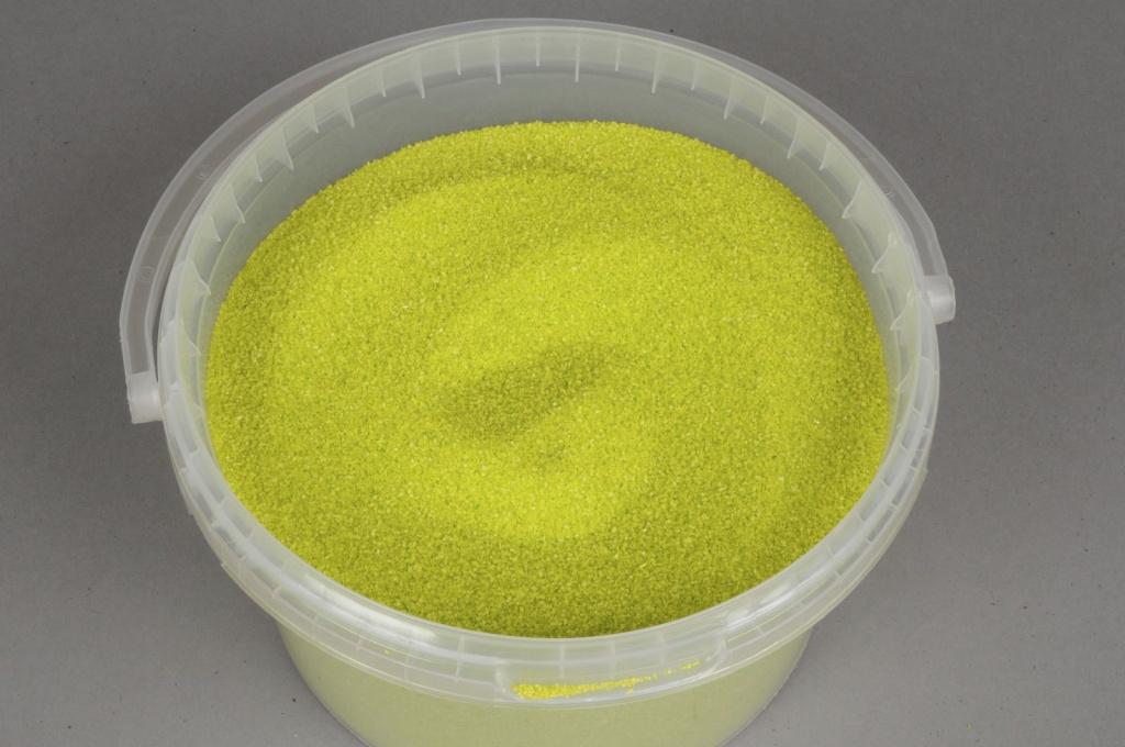 A100SK Seau de sable de 2,5l vert pomme