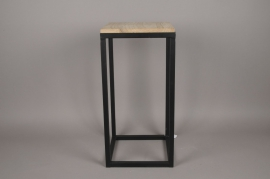 A025AY Wooden and metal stand 30cm x 30cm H62cm
