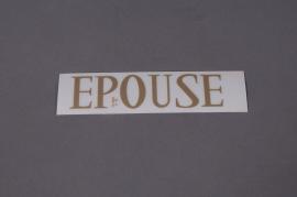 Set  ÉPOUSE 33mm