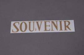 Set  SOUVENIR 33mm