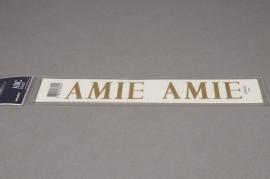 A040K4 Pochette AMIE 33mm