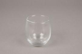 A040MA Set de 12 verrines en verre D6.5cm H7cm