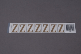A027K4 Set of 50 letters Z 33mm
