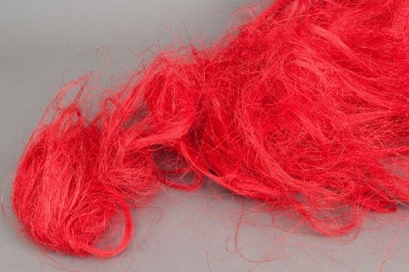 n873ab Sisal rouge 500g