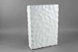 Socle en neige blanche 50X34cm H12cm