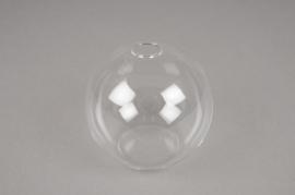 A008U5 Soliflore en verre boule D10cm