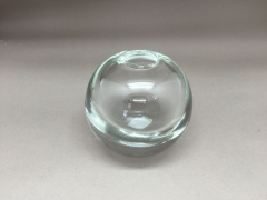 A000M0 Soliflore en verre épais D8cm H8cm