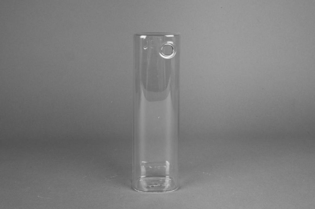 Soliflore en verre rectangle 20x6x6cm
