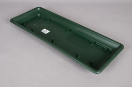 Plastic saucer green 57x22x4cm