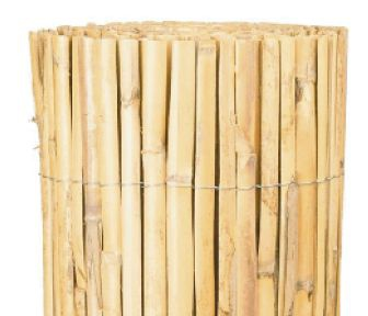 A004DN Split bamboo fence natural 150 x 500cm