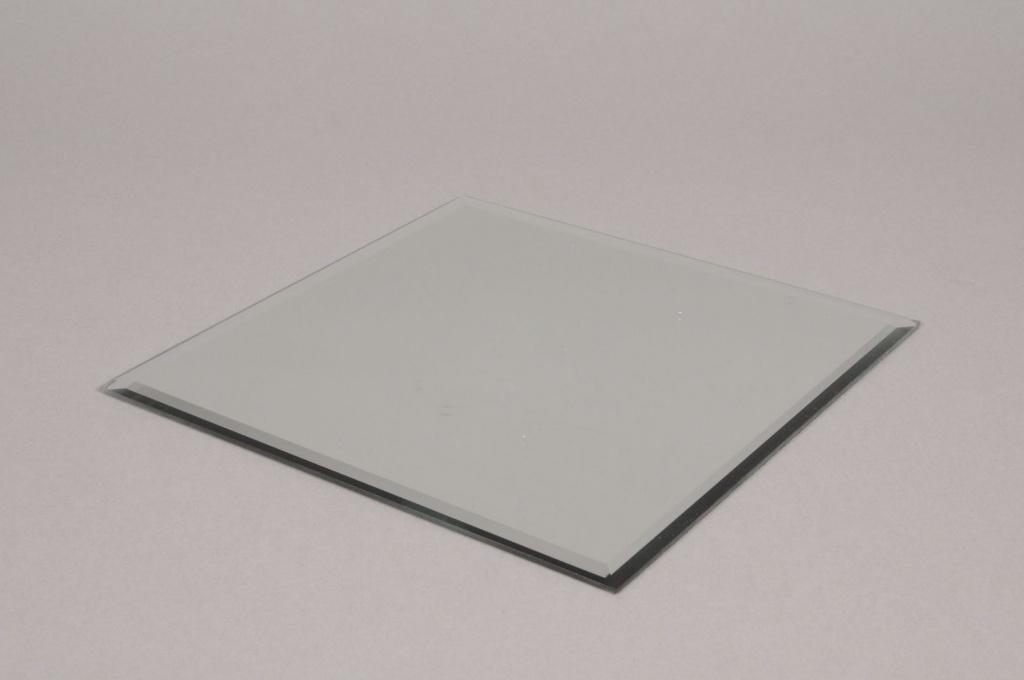 A002MA Support de bougie miroir 20x20cm