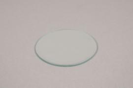 A007MA Support de bougie miroir D12cm