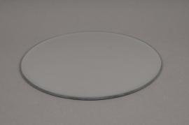 A035PM Support de bougie miroir D20cm