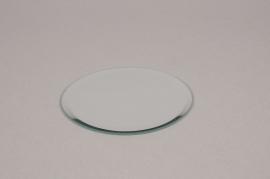 A008MA Support de bougie miroir D9cm