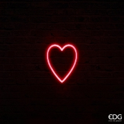 SV00QL Red neon heart 70 LED L16cm H20cm