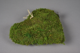 SV19U7 Natural moss heart D26cm