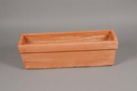 A009Q2 Terracotta pot 55 x 13cm H19cm