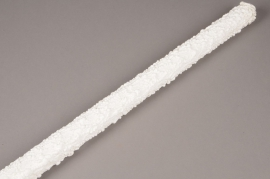 x734nn Tronc artificiel crème D5cm H100cm